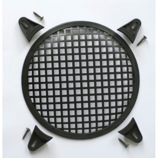 """10"""" Round Loudspeaker Grill with Clamps"""