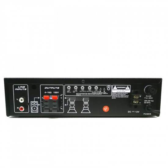 (AMP005) Viper Public Address Amplifier 30W with Bluetooth / MP3