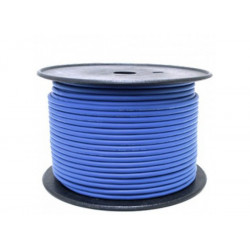 (CAB053) 100M ROLL BALANCED MICROPHONE CABLE BLUE