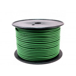 (CAB054) 100M ROLL BALANCED MICROPHONE CABLE GREEN