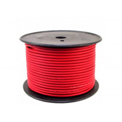 (CAB055) 100M ROLL BALANCED MICROPHONE CABLE RED