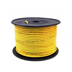 (CAB056) 100M ROLL BALANCED MICROPHONE CABLE YELLOW