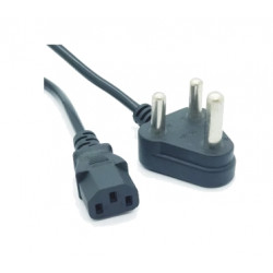 (CAP600) 220V COMPUTER KETTLE PLUG TO 3PIN MAINS CABLE 1.8m