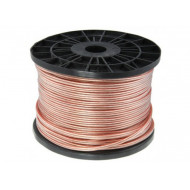 (CAB208) WIRE SPEAKER 2 X 2MM CABLE 100M 14AWG WITH RED LINE