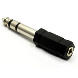 (CON528) 6.5MM STEREO JACK PLUG TO 3.5MM STEREO SOCKET