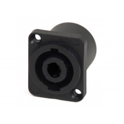 (CON420) SQUARE SPEAKON SOCKET SMALL