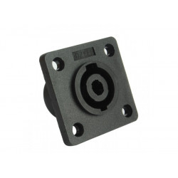 (CON422) SQUARE SPEAKON SOCKET 40MM X 40MM