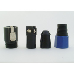 (CON400) 4 PIN SPEAKON MALE PLUG LONG