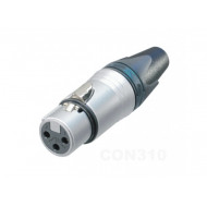 (CON310) 3 PIN XLR FEMALE INLINE