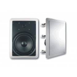 "(PAC061) 6"" 2WAY RECTANGULAR CEILING SPEAKER QUICK FIT WITH CROSSOVER"