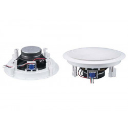 "(PAC084) 8"" CO-AXIAL CEILING SPEAKER WITH 100V LINE TRANSFORMER"