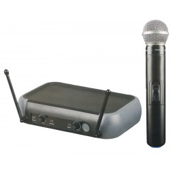 (MIC201) CORDLESS HAND MICROPHONE SYSTEM - UHF