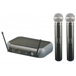 (MIC202) CORDLESS HAND MICROPHONE SYSTEM - UHF