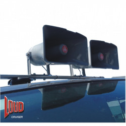 (PAM101B) LOUDCRUISER SUCTION CUP ROOF MOUNTED VEHICLE PA SYSTEM KIT