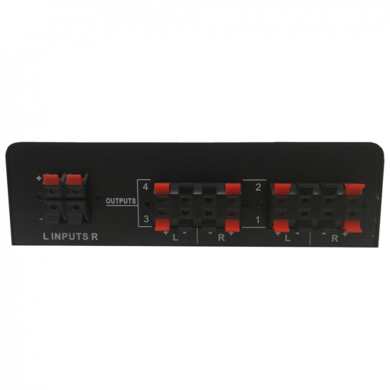 (MIX268-B) Viper 4-way High Power Stereo Speaker Selector Switch