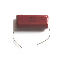 (CRC064) 250V POLYESTER CAPACITOR 4.7UF