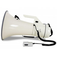 (PAM005) MEGAPHONE / LOUDHAILER 45W WITH SIREN & DETACHABLE MIC